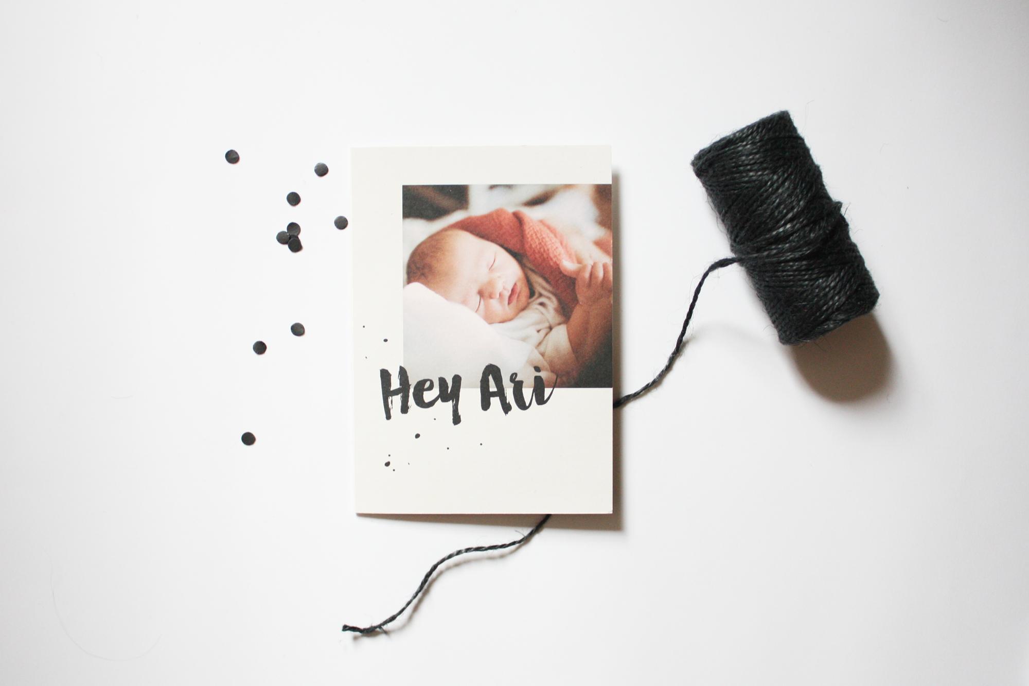 Pünktchen – Babykarte